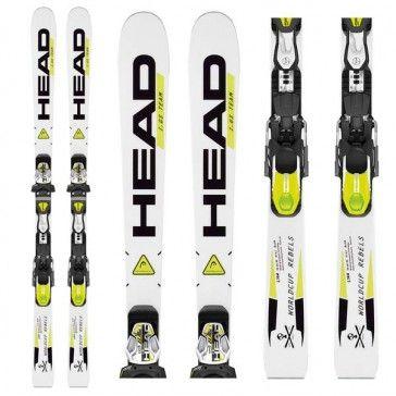2014 Head WC Rebels GS Team Jr. Ski 123cm, 130cm, 144cm, 158cm