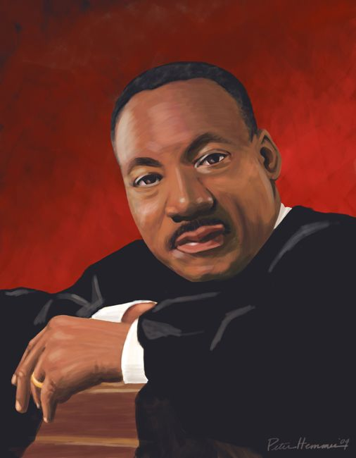 MARTIN LUTHER KING JR PAINTINGS - Google Search
