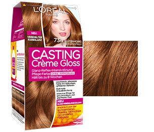 Casting Creme Gloss 734 Blütenhonig Von L Oréal Paris Cabello Color Cobrizo Pelo Rojo Cabello