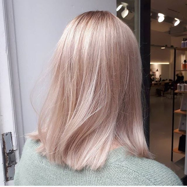 Photo of Antique rose gold hair by Relinde Salon B, Utrecht… – #Antique #Gold #hair #Re…