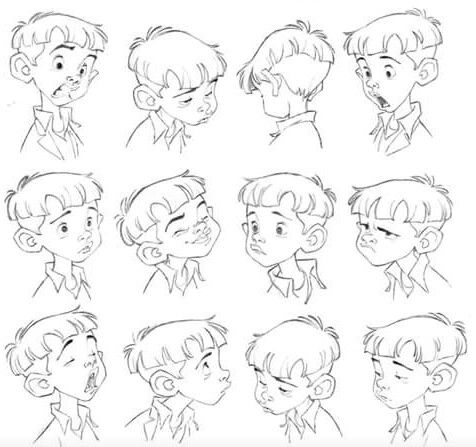 Face Expressions Character Design Animation Character Drawing Cartoon Drawings