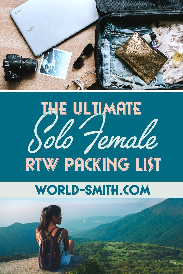 The Ultimate Solo Female RTW Packing List