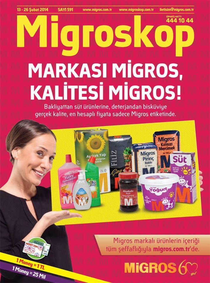 Markası Migros, kalitesi Migros! Gerçek kalite, en hesaplı