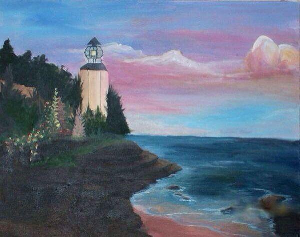 Light house by Stephanie Bowden