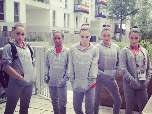 Love these girls! Go team USA!