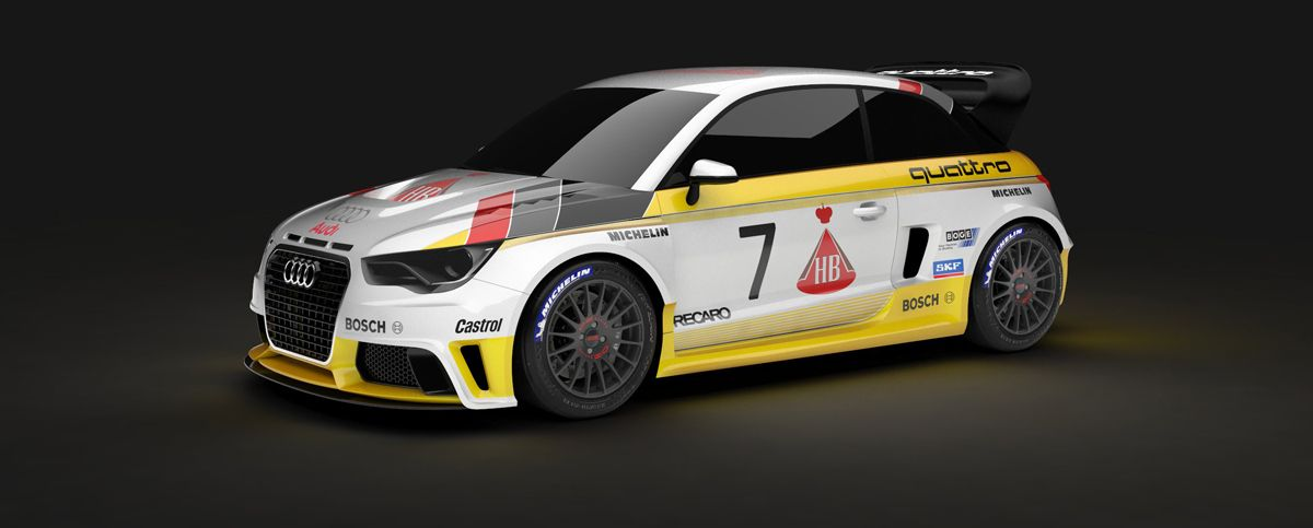 The Mtm A1 Quattro Group B Is A Rally Monster Audi A1 Audi