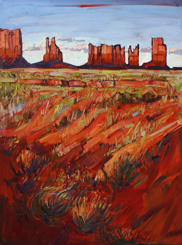 Monument Valley Desert Oil Paintings