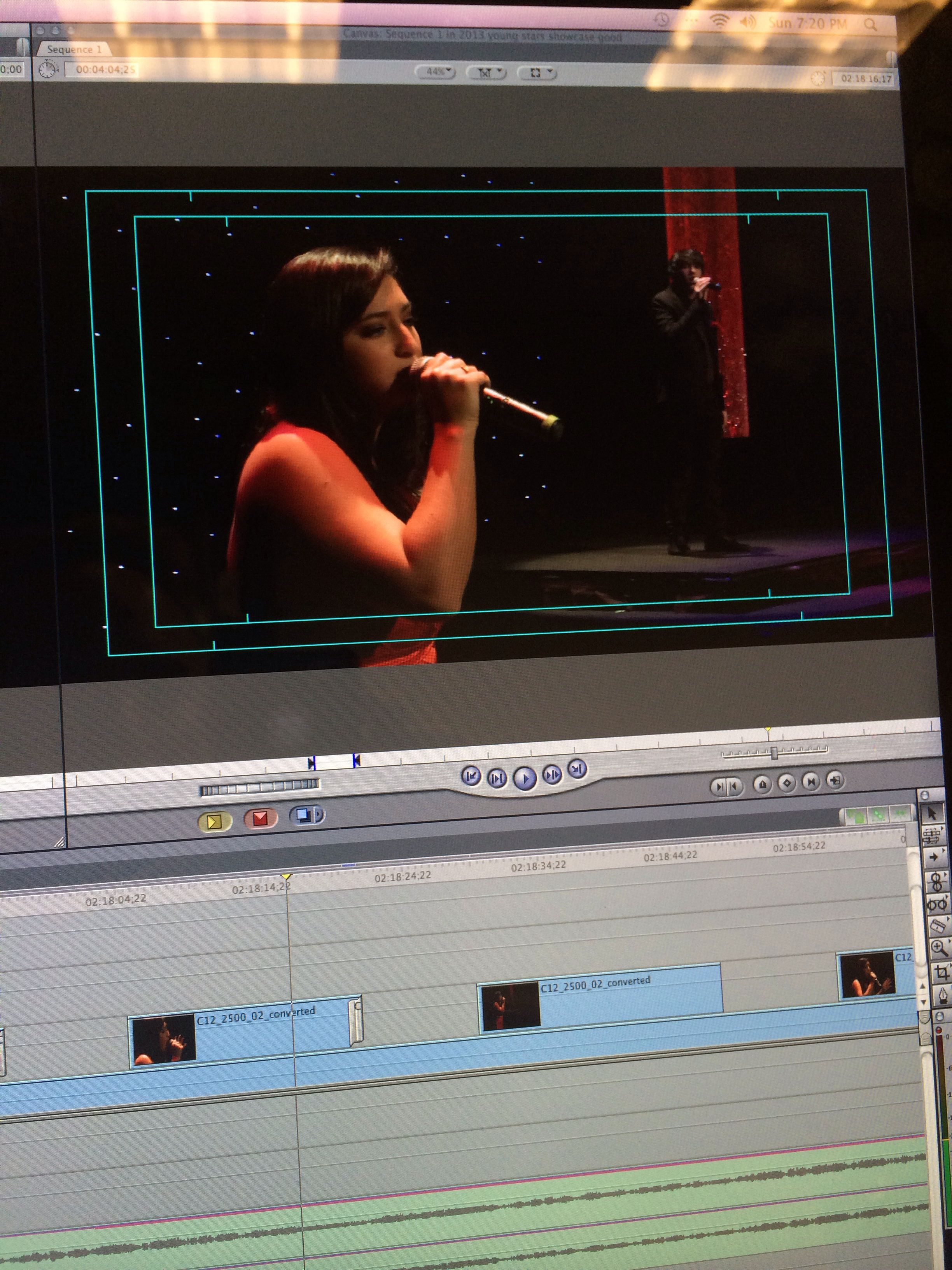 Final Cut Pro! 4th Annual AT&T Young Stars Showcase.
