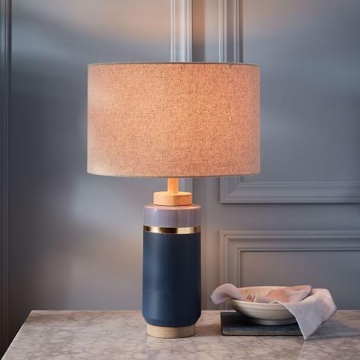 Roar Rabbit Crackle Glaze Ceramic Table Lamp Tall West Elm
