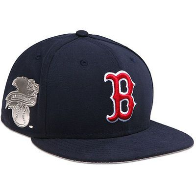 Boston Red Sox New Era Metal Gamer 59fifty Fitted Hat
