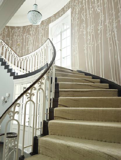 diese tapete gute idee vielleicht auch f r unser treppenhaus selbst bemalen treppenhaus. Black Bedroom Furniture Sets. Home Design Ideas