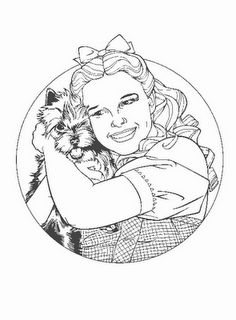 Dorothy And The Wizard Of Oz Coloring Pages Images