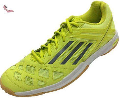 Adidas - Barricade X Enfants Chaussure de tennis (noir/jaune) - EU 36 - UK 3,5