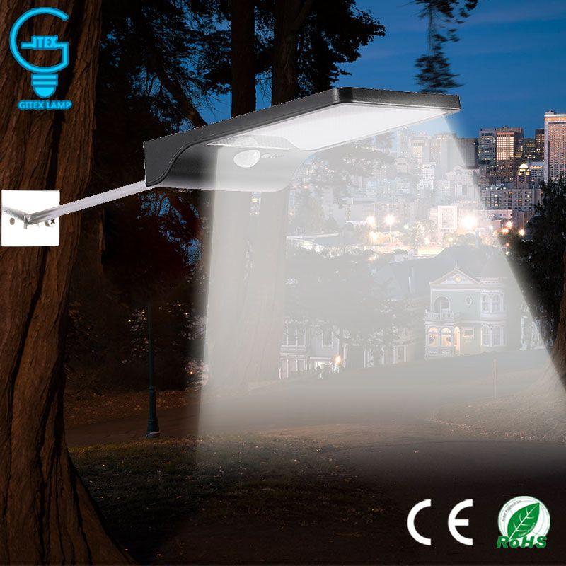 Encuentre Mas Lamparas Solares Y Mas Informacion Acerca De Lamparas Led Solar Con Sensor De Movimi Luces De La Calle Camino En El Jardin Sensores De Movimiento