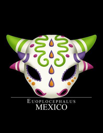 Euoplocephalus Mexican Dinosaurs By Tony Rey Www Behance Net Poizoned Dinosaurios Mexicano Parque Jurasico O quizás solo era chabelo llevando su mascota al. pinterest