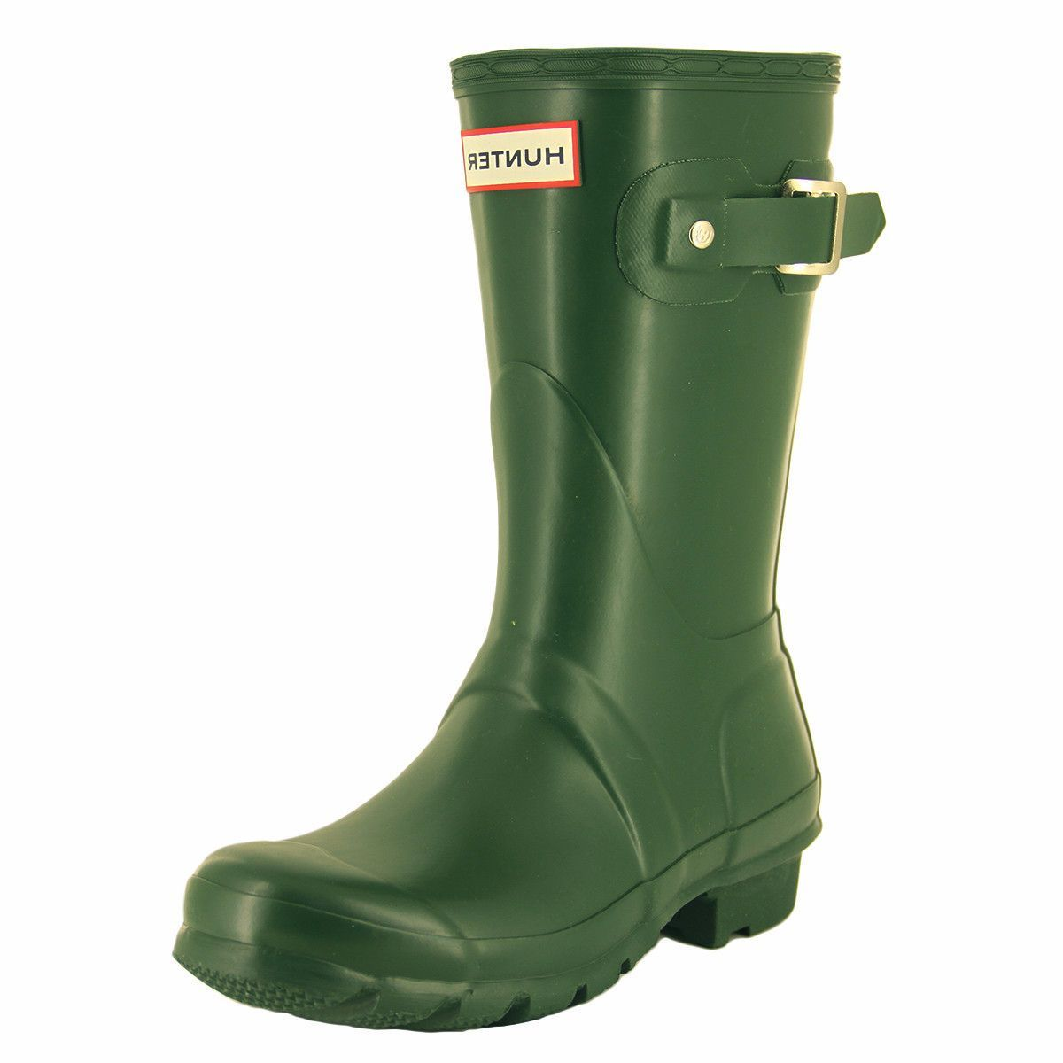 Hunter - Women's Original Short Rain Boots - Hunter Green