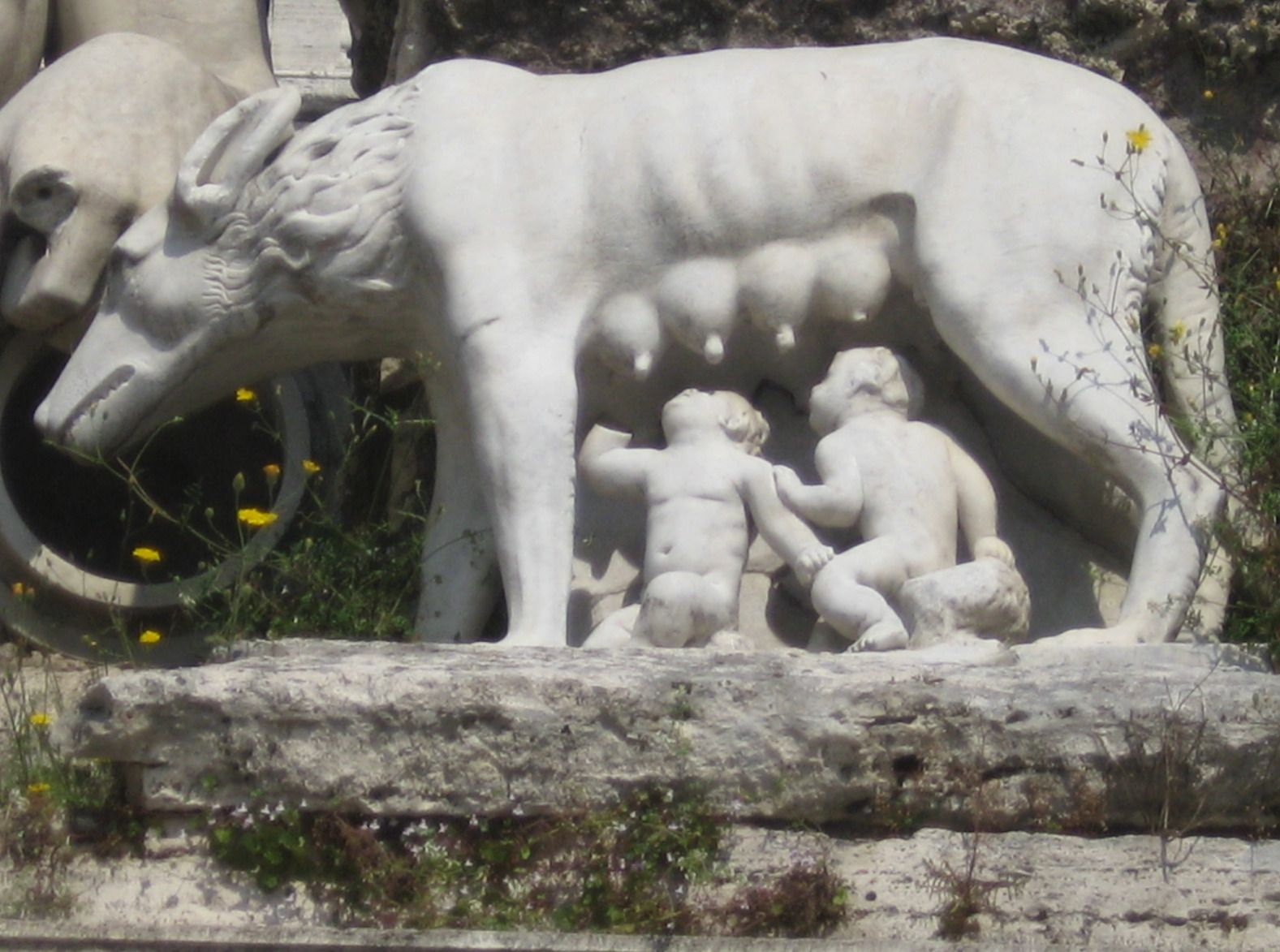 bbd12cb5e85 La Lupa, the She-wolf with Remus and Romulus. | The She-wolf of Rome ...