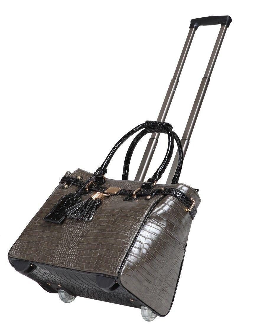 Vera May Fashion Las Travel Trolley Bag Designer