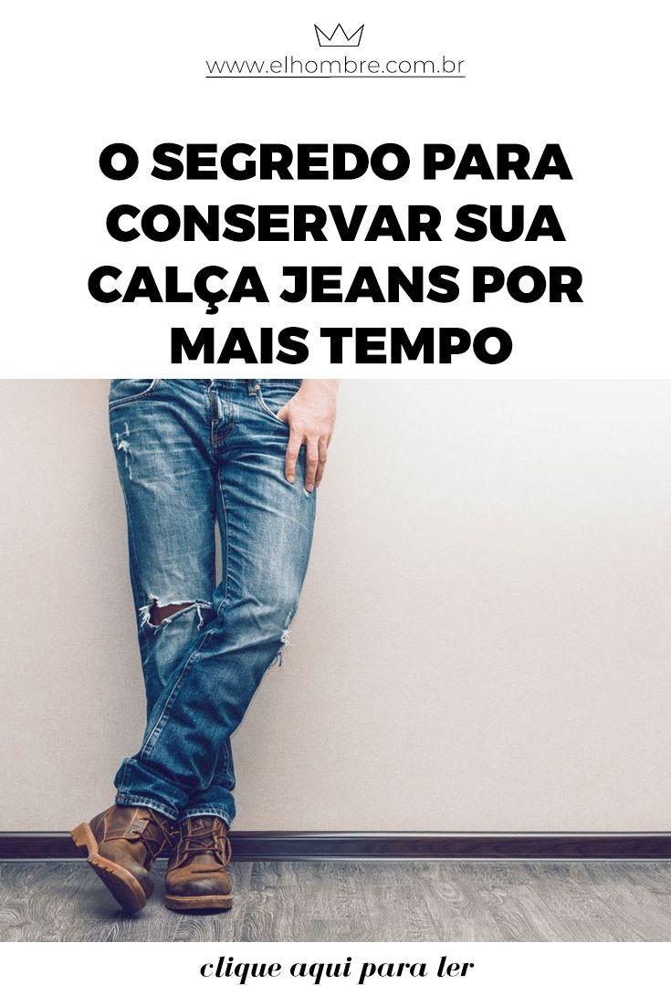 O segredo para conservar sua calça jeans por mais tempo