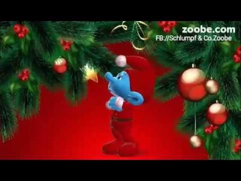 1 advent f r die lieben frauen sarkastisch schlumpf videos zoobe schl mpfe animation lustig - Schlumpf weihnachten ...