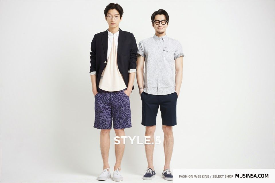 Garten Magazine agency garten 2014 may musinsa magazine model hong chang woo leo