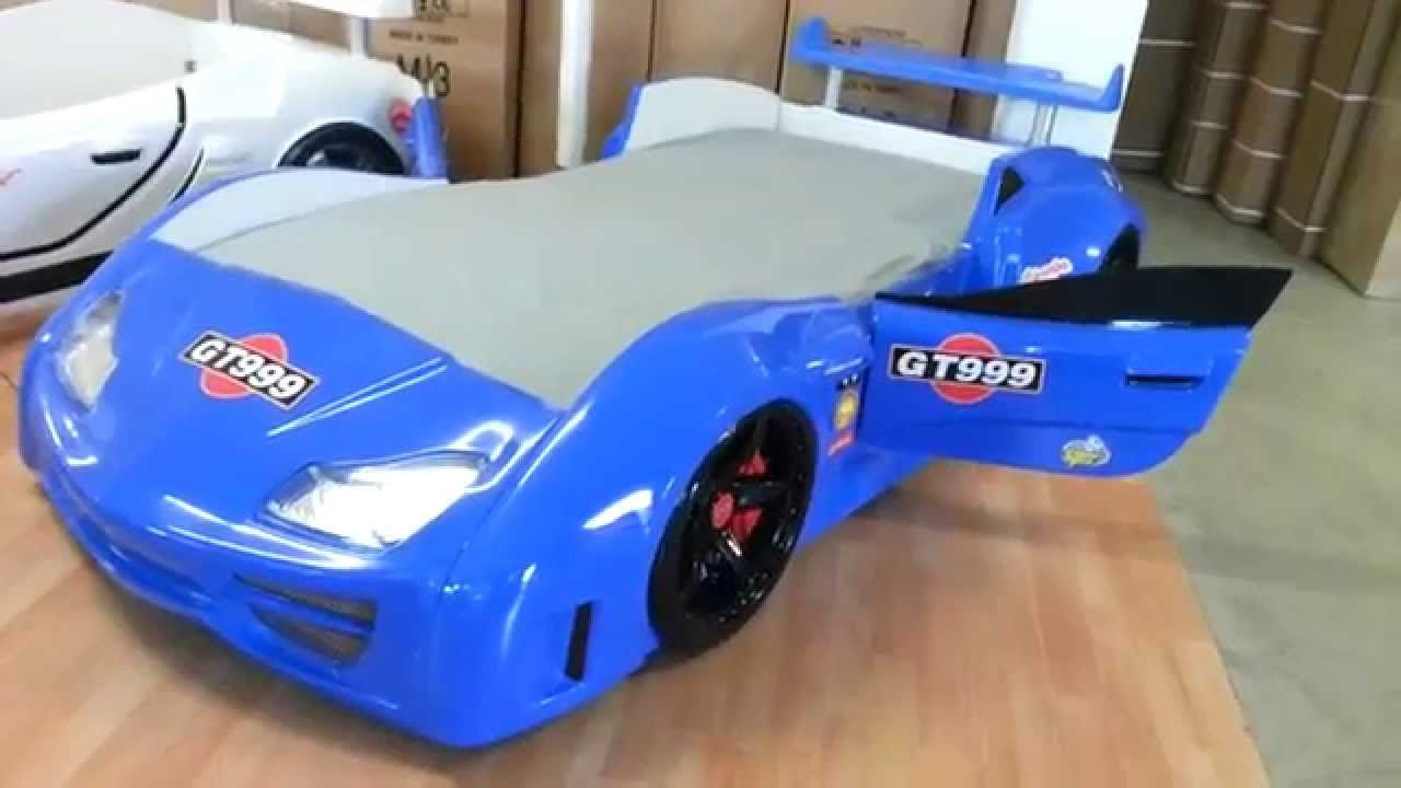 Cool Supercar Bed Gt999 Blue Usa Super Cars Race Car Bed Car Bed