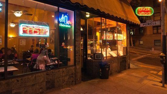 Delicious grub-- Uncle Vitos San Francisco - Bush & Powell Street