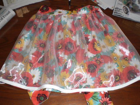Passion Pansies Apron $25.00