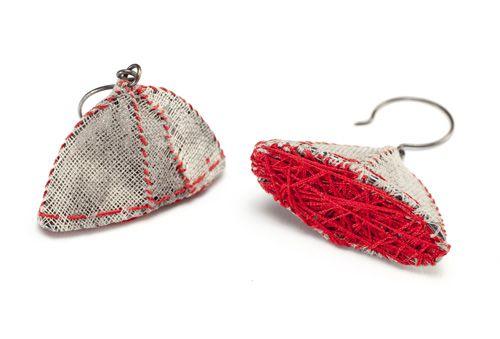 Duo Earrings on http://www.velvetdavinci.com Artist: Myung Urso Exhibition: Myung Urso: Signature
