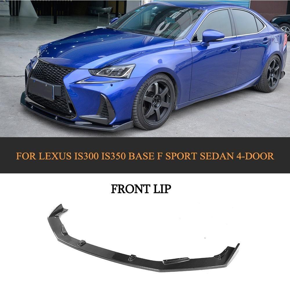 Lexus Sport Sedan: Carbon Fiber Car Front Bumper Guard Lip Spoiler Diffuser
