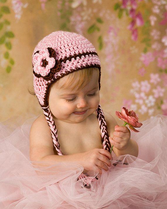 Crochet Newborn Hat Baby Girl Hat Baby Newborn Hat by CarolinaHats f9cd95cfd56b