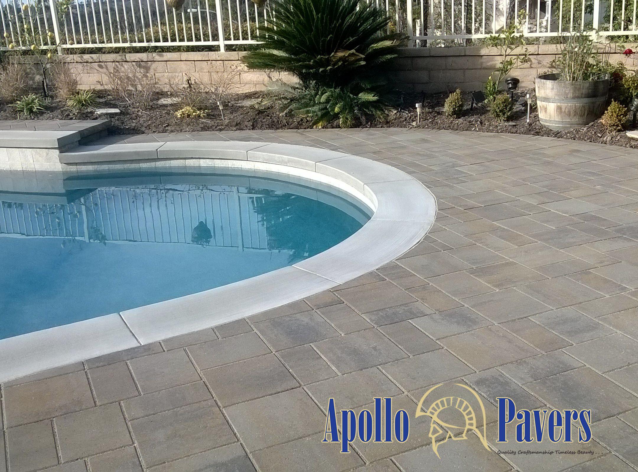 Belgard Catalina Pavers Color Victorian Backyard Remodel Outdoor Retreat Backyard Pool