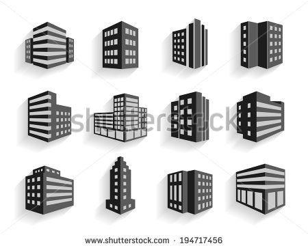 Flat Industrial Building Vector Stock Photos Images Pictures Building Icon Building Building Images