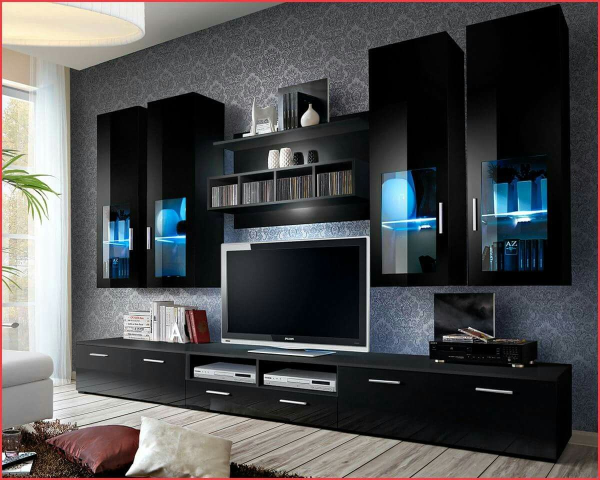 Tv Cubbord Ideas Homebliss Pinterest Tvs # Le Corner Meuble Tv Blanc Led Hi Fi Integre