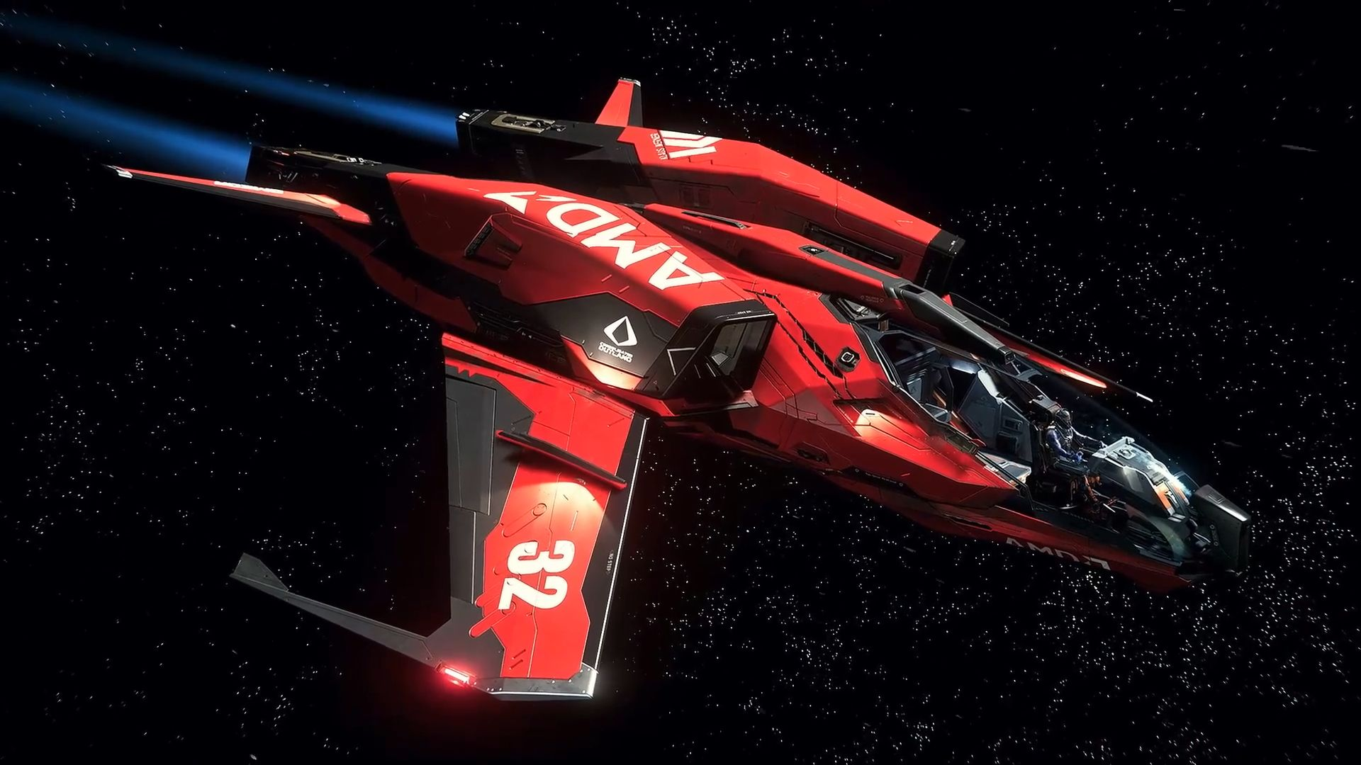 Star Citizen Mustang AMD – Живые Обои на рабочий стол ...