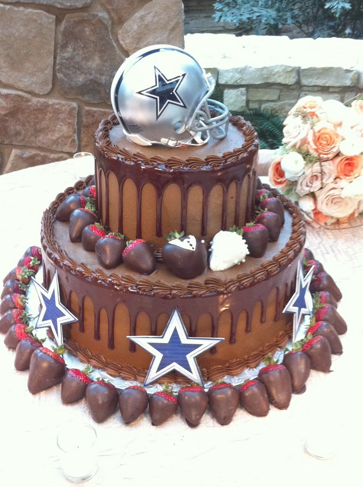 Dallas cowboys birthday cake ideas and designs - Cowboys Wedding Or Groom S Cake