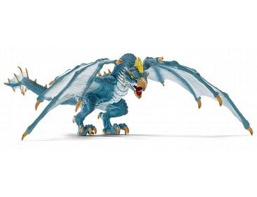 Schleich DRAGON POACHER green plastic toy mythical fantasy winged animal NEW