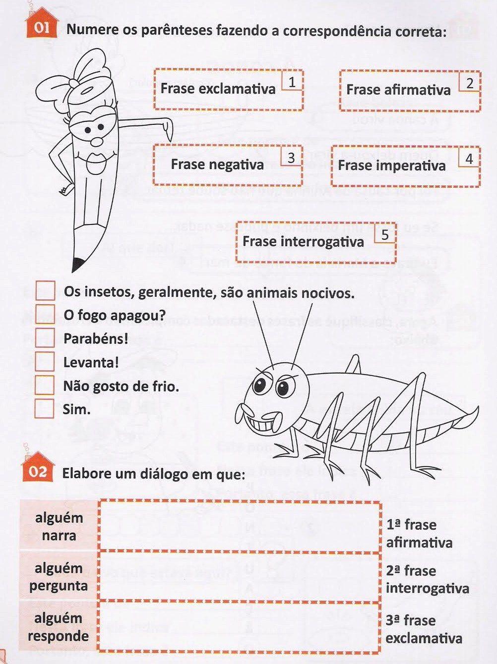 Língua Portuguesa - Gramática - Tipos de Frases Afirmativas ...