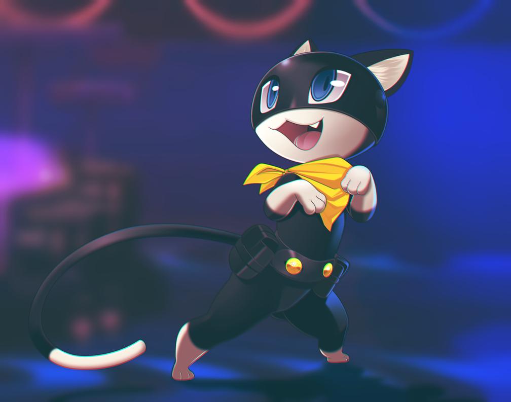 Fanart Of Morgana Persona 5 By Phation On Deviantart Persona 5 Fan Art Persona