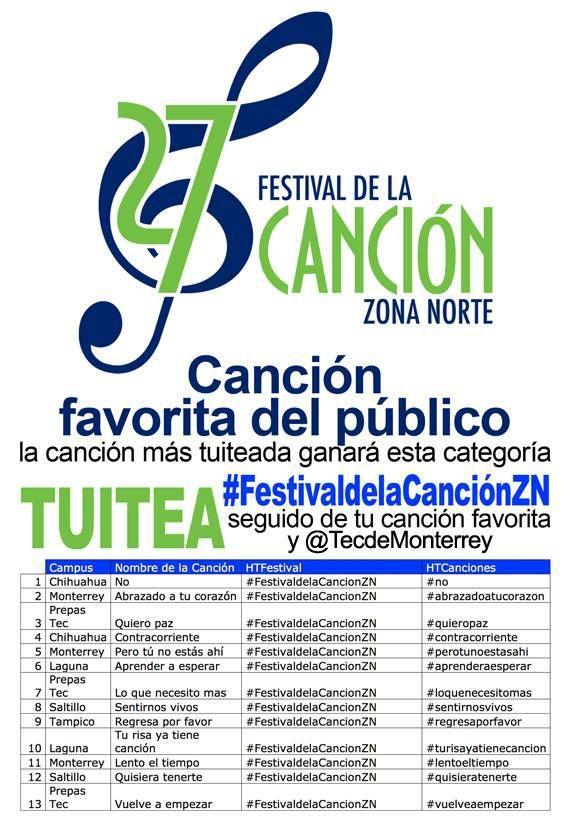 Zona Norte: Festival de la Canción on Livestream