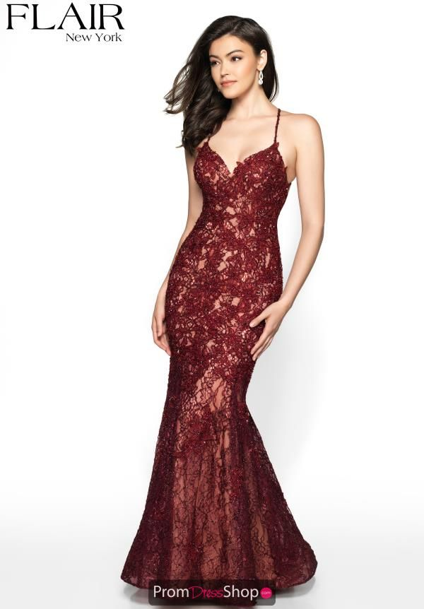 8990f88ccd4 Sophisticated long dress style 19010 is a perfect choice for prom. This  dress showcases a v-cut neckline with thin spaghetti straps