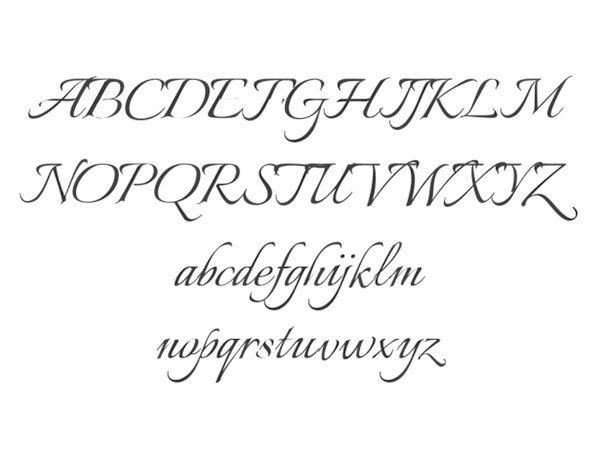 Text Elegant Font Tekst Sierlijke Lettertype Tattoo Picture