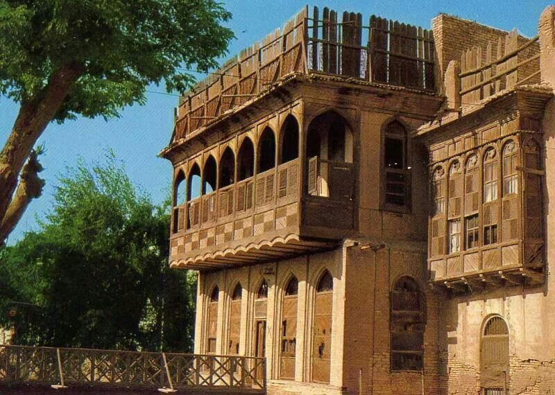 Basrah Iraq Old House Traditional Architecture Islamic Architecture Architecture