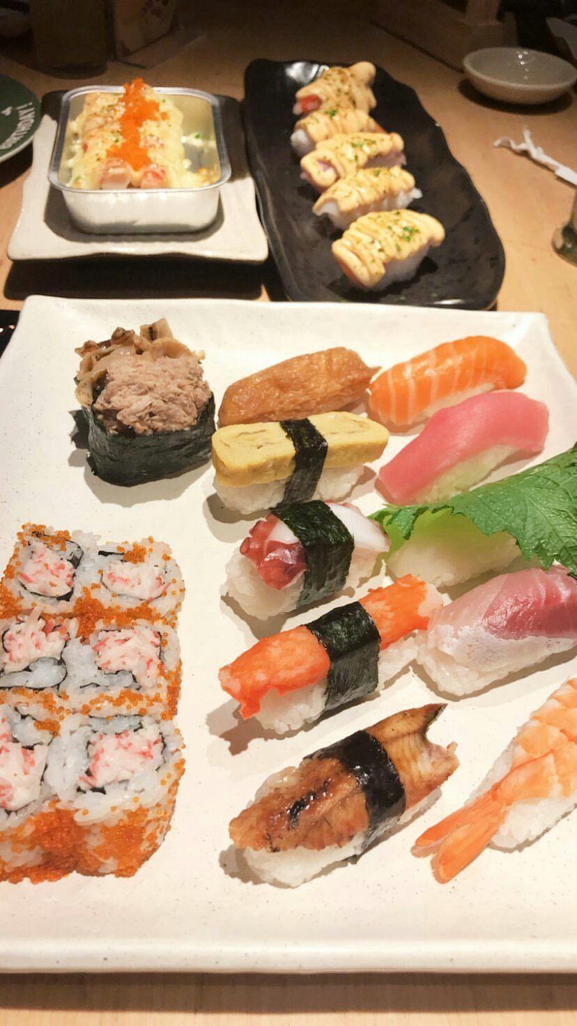 Sushi Ide Makanan Makanan Enak Makanan