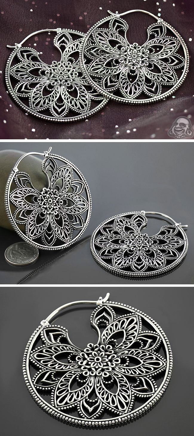White brass Undulate design, Maya Jewelry | BAF | Jewerly ...