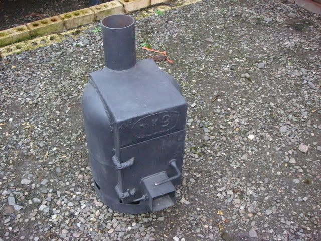 Old gas bottle wood burner stove - Bushcraftliving.com Discussion Forum - Propane Tank Stove DIY Pinterest Stove And Propane Stove