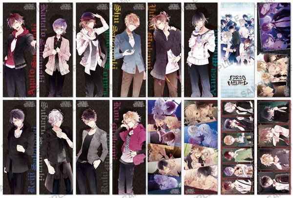 AmiAmi [Character & Hobby Shop] | Diabolik Lovers More, Blood Pos x Pos Collection 8Pack BOX