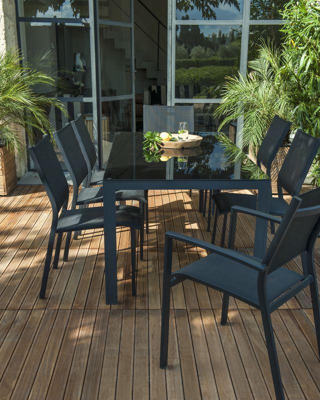 fauteuil blooma batz castorama table