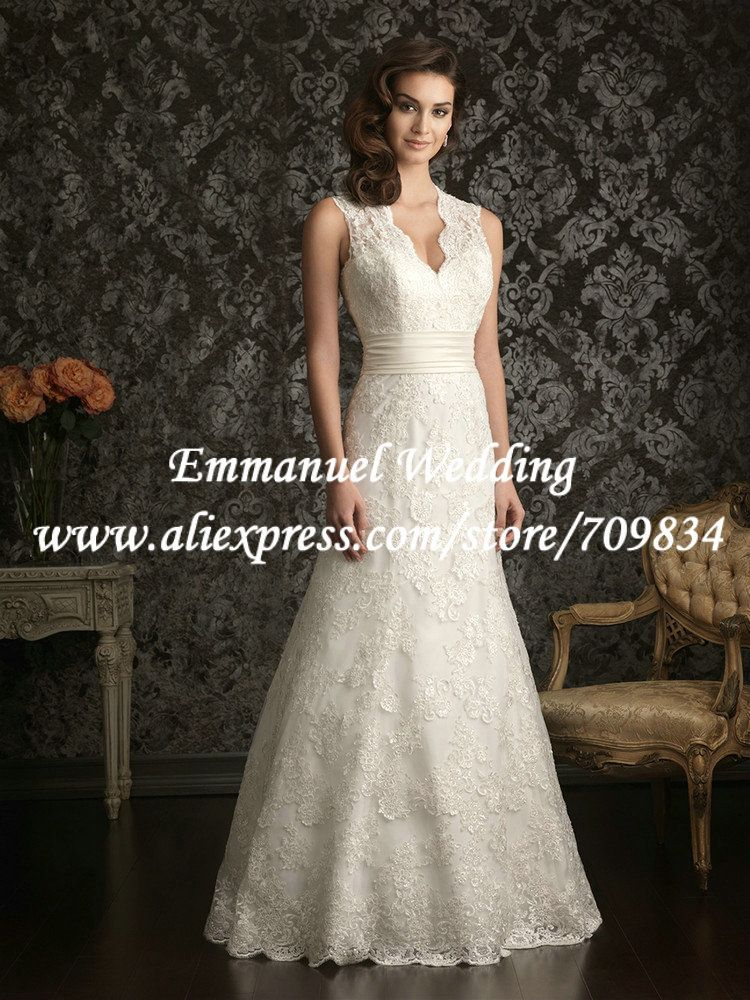 Lace Empire Waist V Neck Wedding Dresses With Built In Corset Google Search