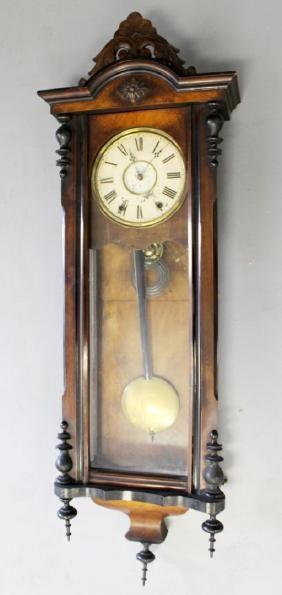 Spring Driven Vienna Regulator Wall Clock Wall Clock Clock Antique Wall Clock